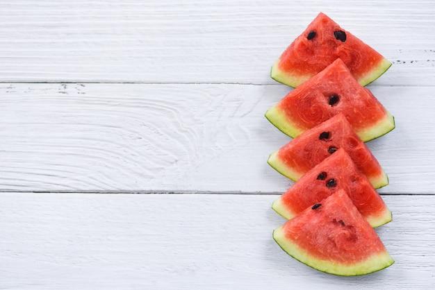 Watermeloenplakken