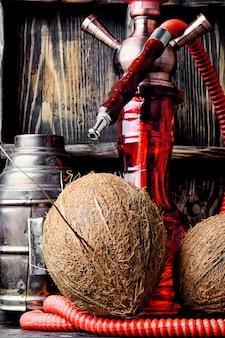 Waterpijp met kokossmaak