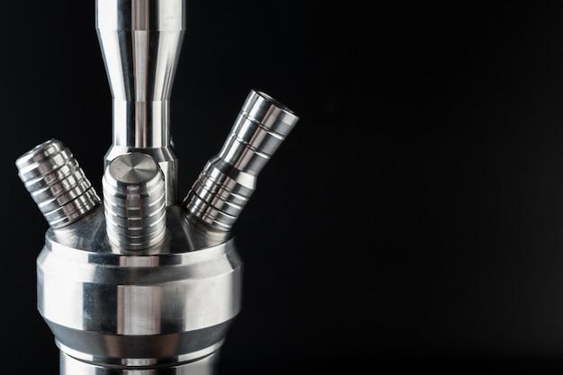 Waterpijp metalen delen close-up