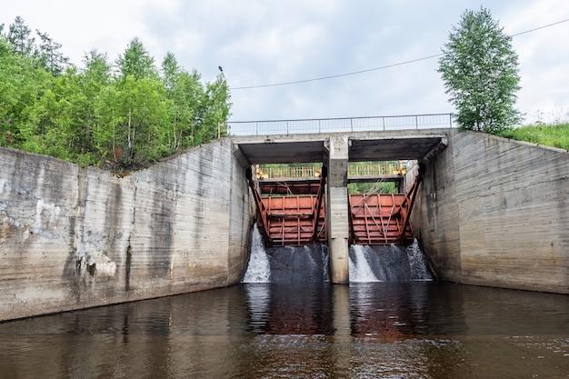 Waterreserve op waterkrachtcentrale