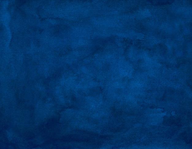 Waterverf het oude donkerblauwe schilderen als achtergrond