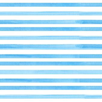 Waterverf naadloos patroon met strepen