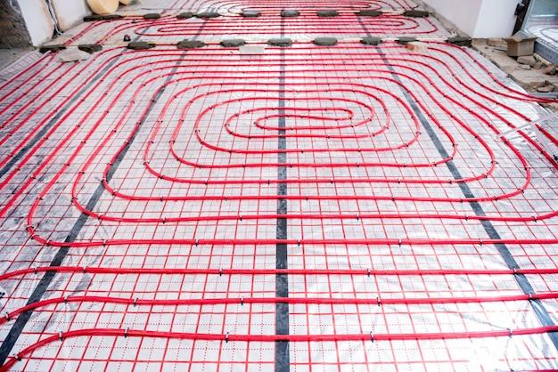Waterverwarmingssysteem en vloerverwarmingssysteem
