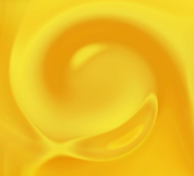 Wazig gele werveling - abstracte achtergrond