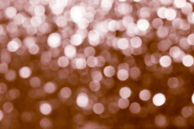 Wazig glanzend koper glitter textuur
