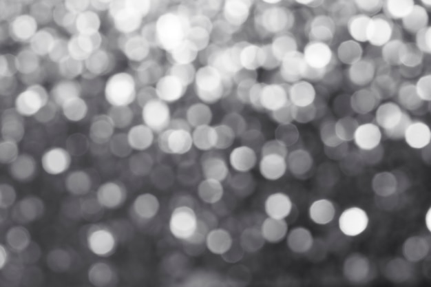 Wazig glanzend zilver glitter textuur