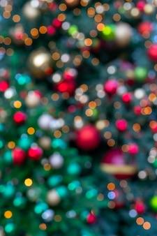 Wazig heldere feestelijke kerst achtergrond