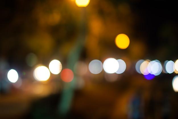 Wazig lichten achtergrond bokeh.