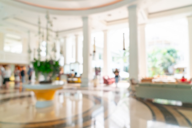 Wazig luxe hotellobby en lounge