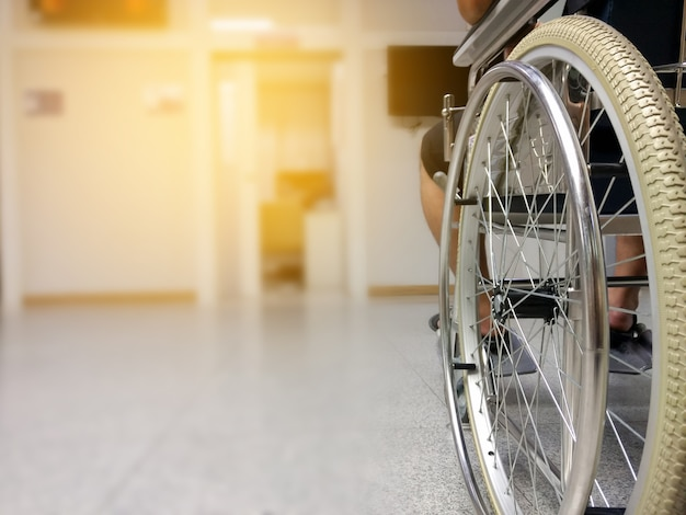 Wazig mensen in het ziekenhuis