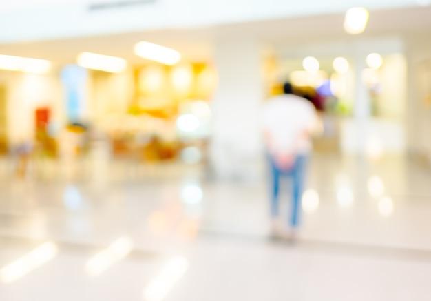 Wazig patiënt wachten op zien arts, abstracte achtergrond