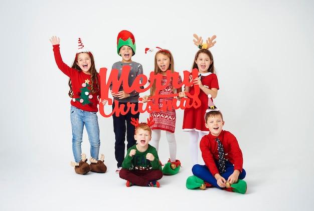 We wensen je een fijne kerst