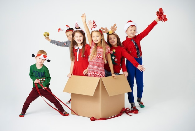 We zijn klaar om kerst te vieren