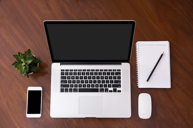 Website en mobiele applicatie ontwerp mockup