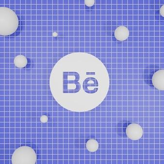 Website logo 3d-rendering