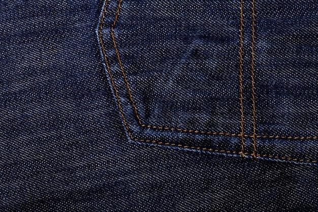 Weefsel van jeans