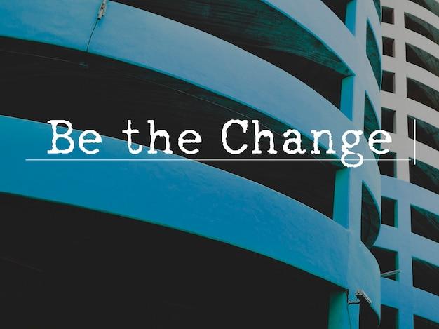 Wees door verandering geïnspireerd active thunder-website