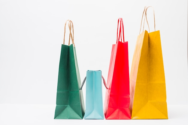 Weinig heldere winkelpakketten