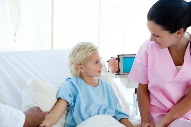 Weinig patiënt krijgt een vaccinatie