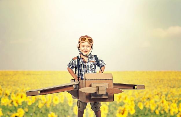 Weinig vliegerportret