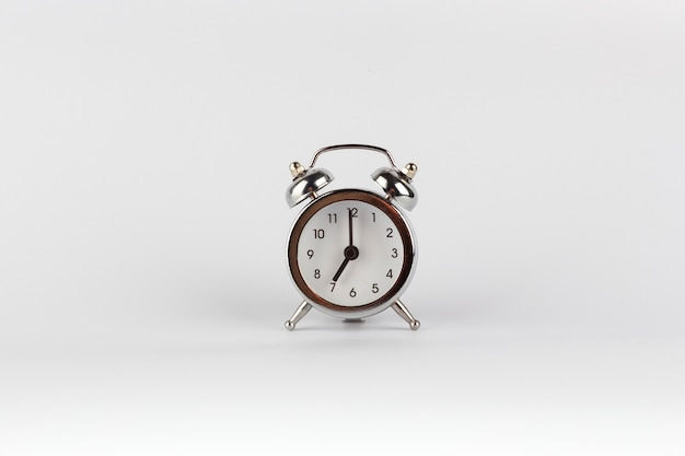 Wekker in retro vintage stijl om 7 uur