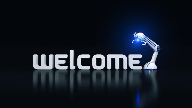 Welkom robot