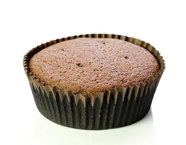 Welpcake, op witte achtergrond wordt geïsoleerd die