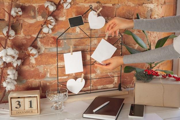 Wensen, dromen en doelen, plannen maken voor nieuwjaar en kerstmis