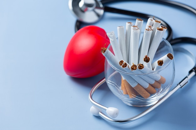 Wereld geen tabaksdag concept.