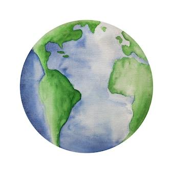 Wereld milieu dag. mooie wenskaart. geïsoleerde achtergrond, close-up, weergave van bovenaf, houten oppervlak. proficiat aan familie, vrienden en collega's
