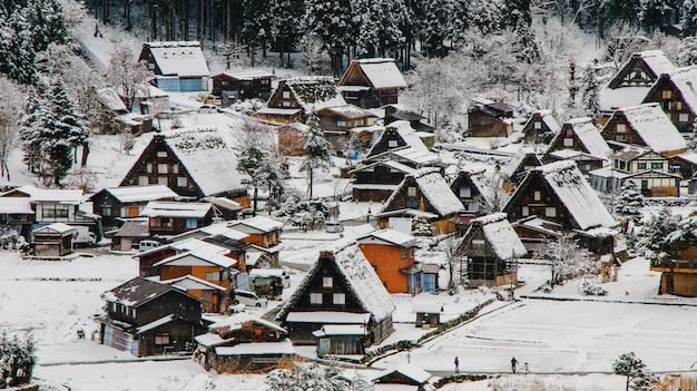 Wereld 's nachts huis japan historische