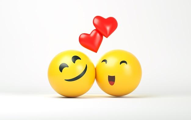 Wereld smile day emoji's arrangement smile