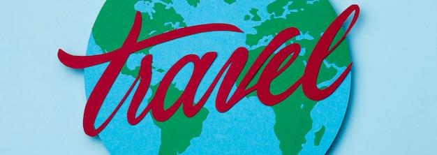 Wereld toerisme dag concept