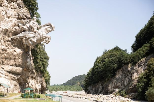 Wereldtoerisme dag, historisch religieus monument in noord-ossetië