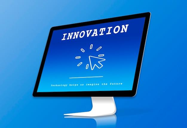 Wereldwijd digital explore technology networking