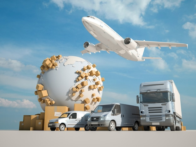 Wereldwijde logistiek