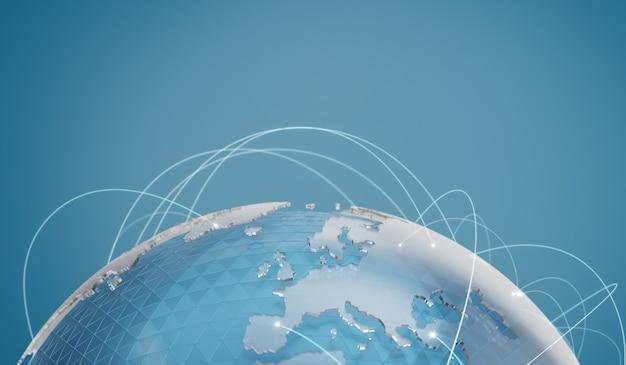 Wereldwijde netwerkcommunicatietechnologie