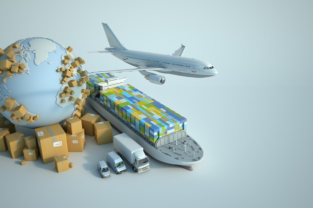 Wereldwijde transportsector