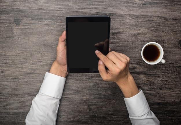 Werken in een tablet