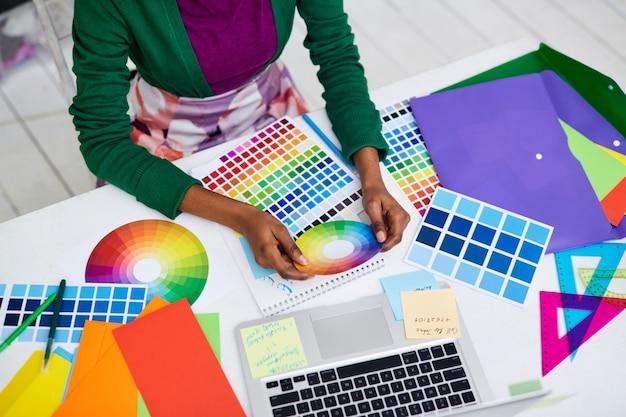 Werken met kleurendiagram