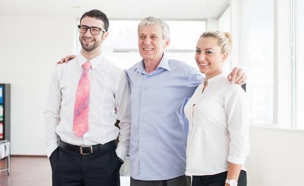 Werkkantoor voor zakenmensen en leidinggevenden