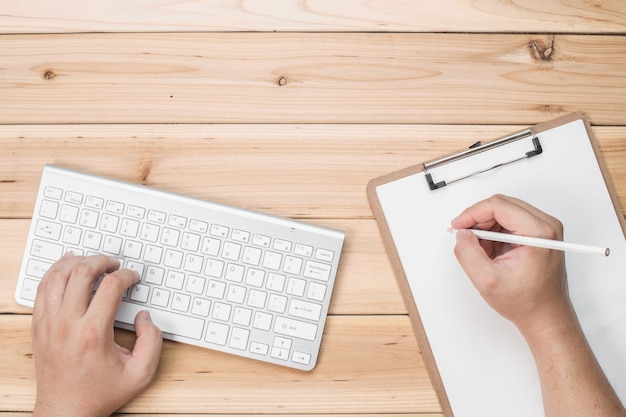 Werknemers schrijven