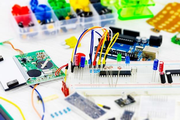 Werkplaats van de hardware-ingenieur
