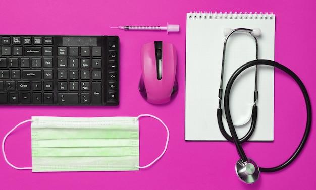 Werkplek van een moderne arts