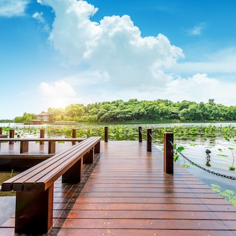 West lake hangzhou landschap