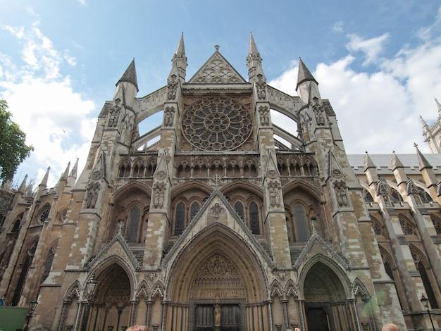 Westminster abbey kerk in londen