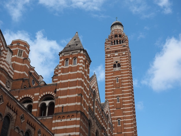 Westminster cathedral in londen