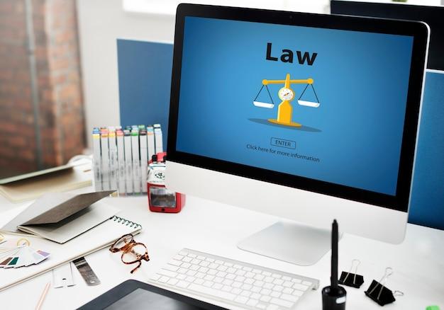 Wet juridische controle rechtbank regelgeving controleconcept