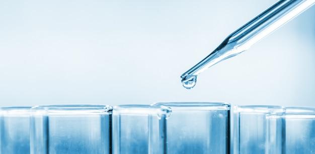 Wetenschappelijk laboratorium reageerbuizen, laboratoriumapparatuur