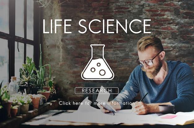 Wetenschappelijke biochemie genetica engineering concept
